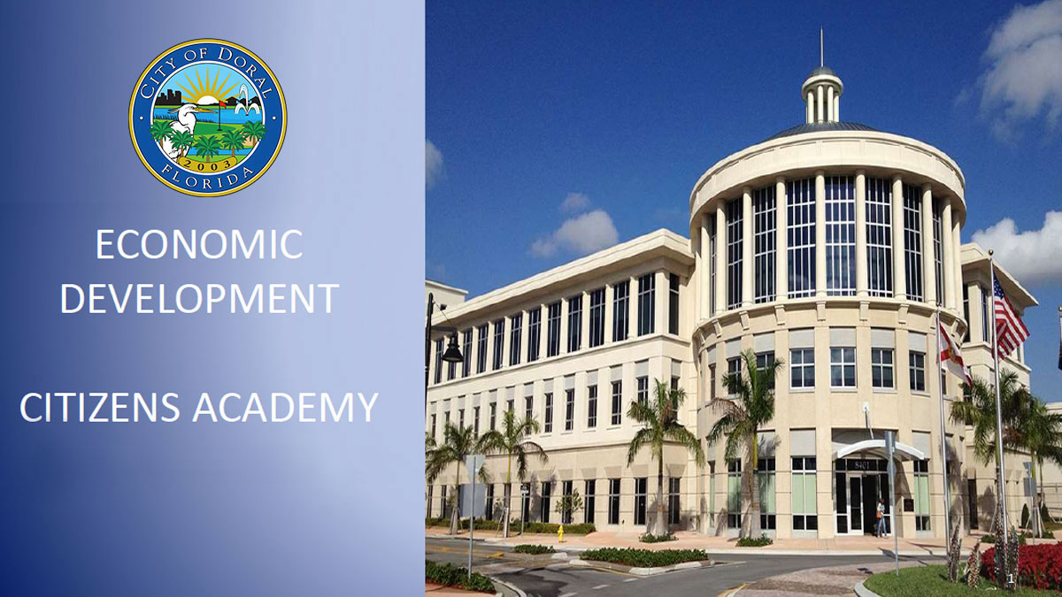 Presentation - Economic Development
