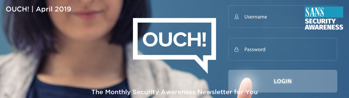 OUCH April 2019 Edition