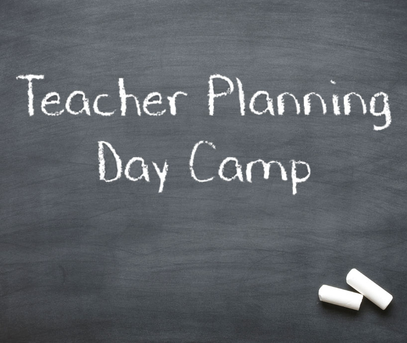 Teachers Planning Day Camps