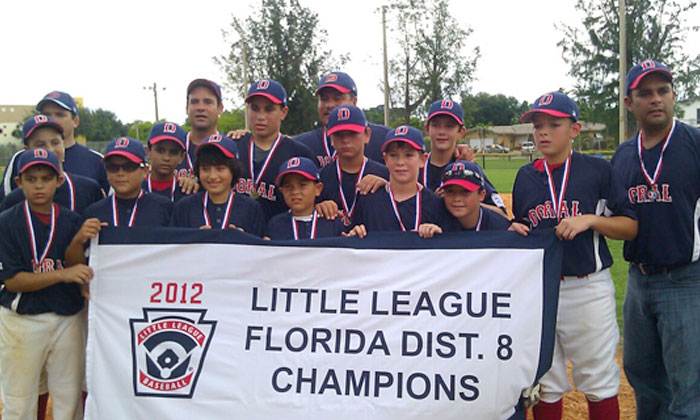 Doral Little Leaguer