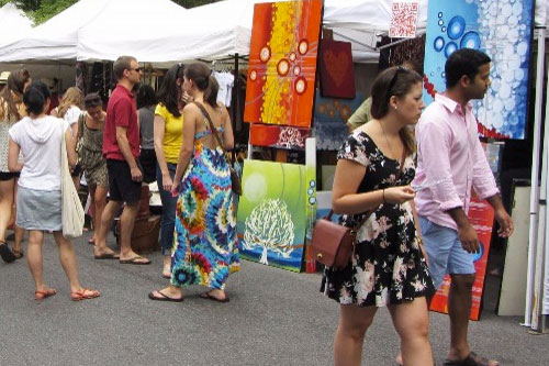 Downtown Doral Aart Walk & Earth Day