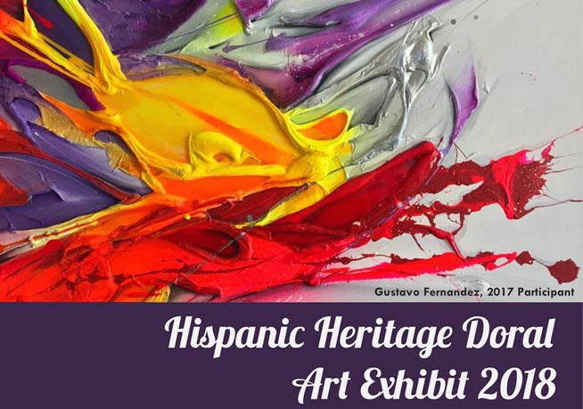 Hispanic Heritage Doral Art Exhibit