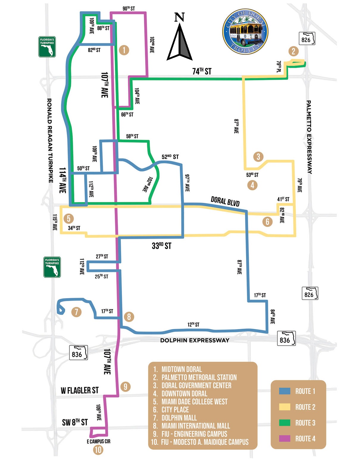 Doral Trolley · City of Doral on