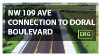 NW 109 Ave connection to Doral Boulevard