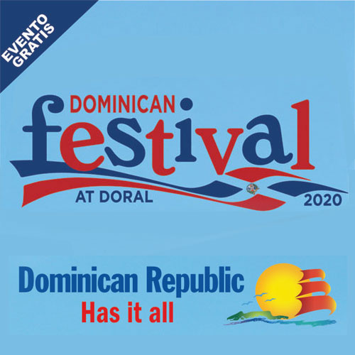 """The First """"Dominican Festival at Doral"""" Celebrates Dominican Independence Day!"""