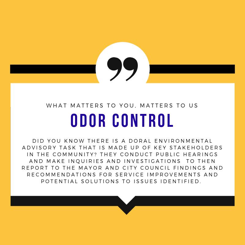 Odor Control Update