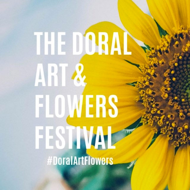 "Art and Nature Collide at the 2019 ""Doral Art & Flowers Festival"""