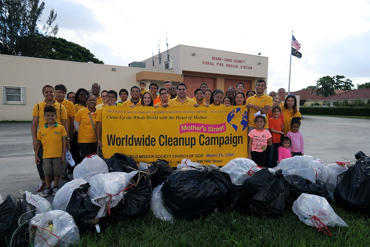 WORLDWIDE CLEANUP CAMPAIGN
