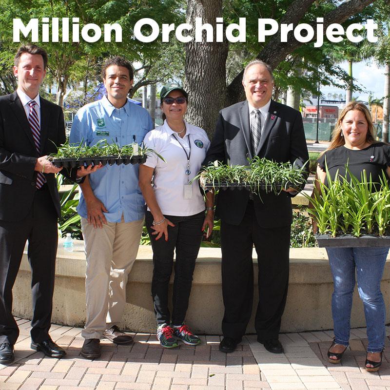 Million Orchid Project