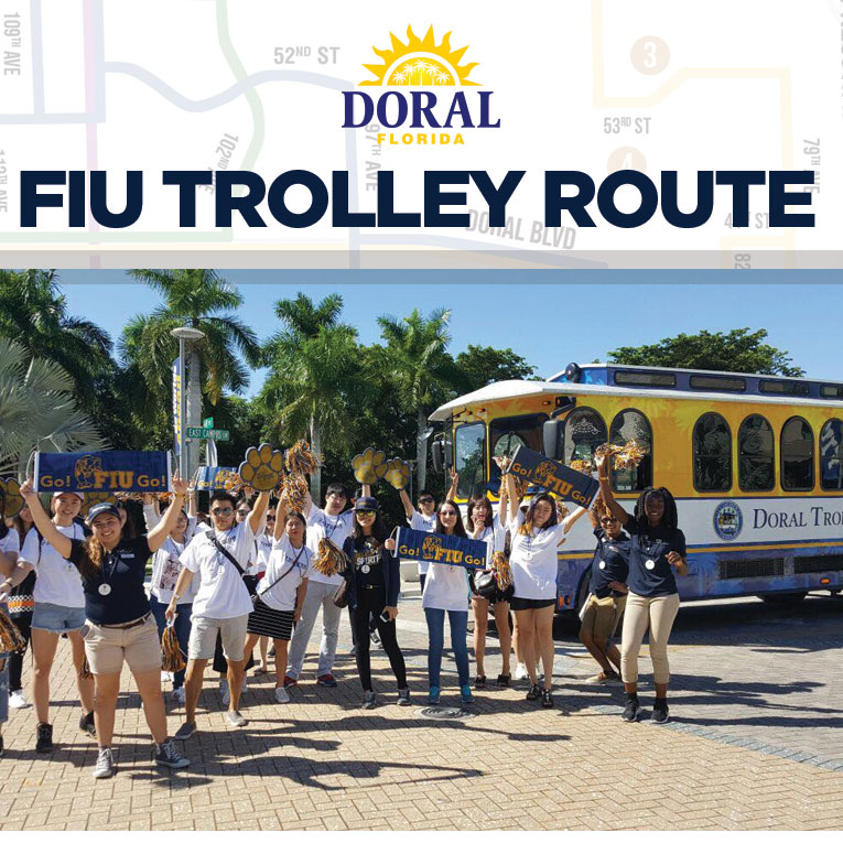 FIU Trolley Route