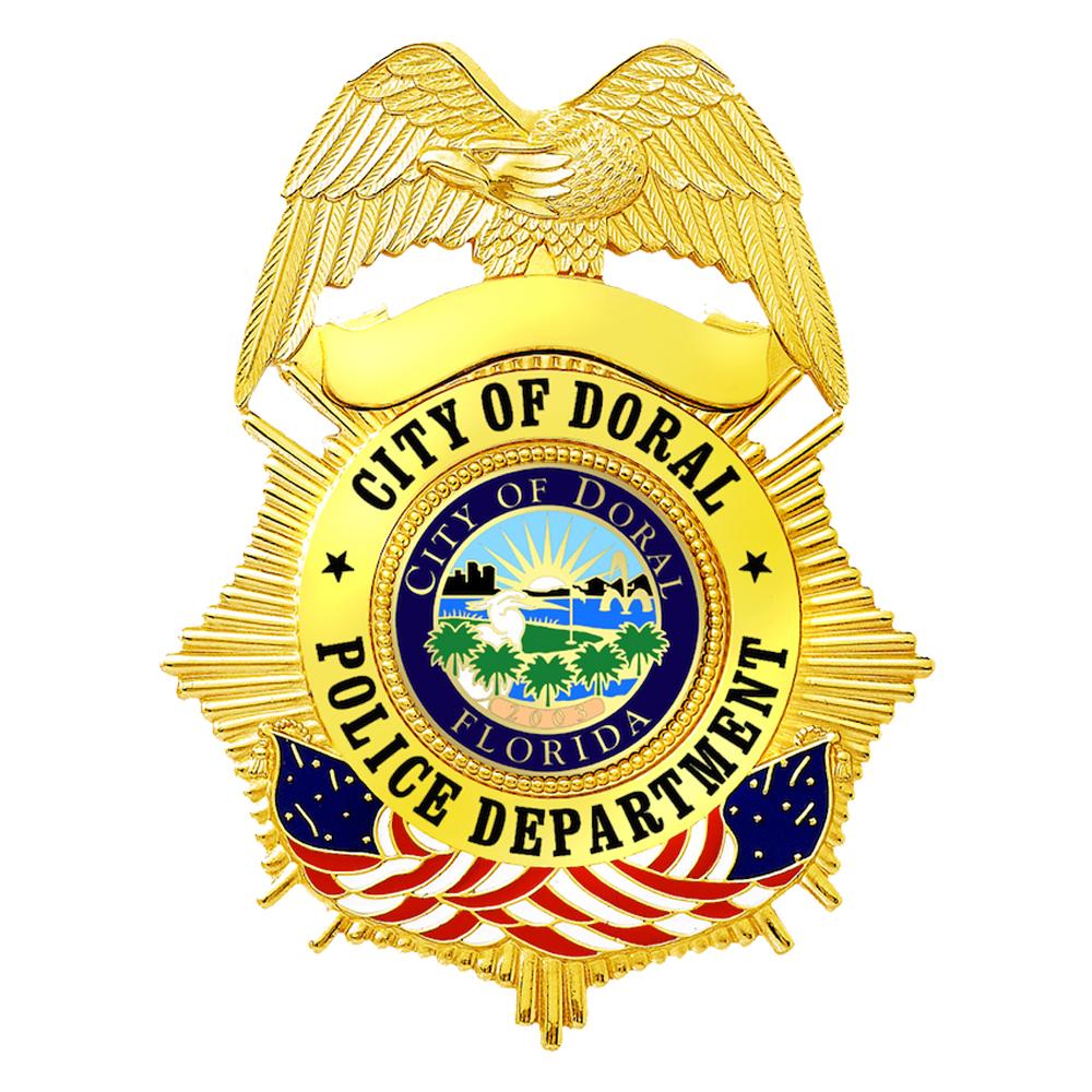 Doral Police Badge