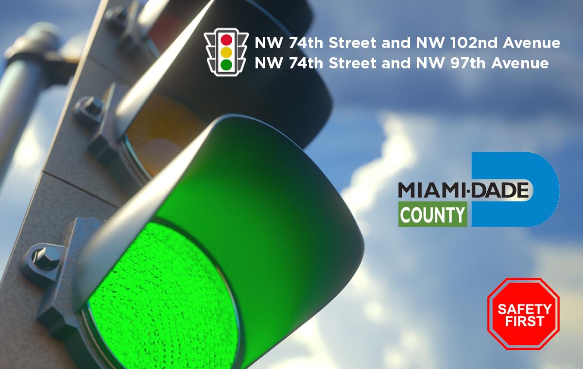 Traffic Lights 74th Street