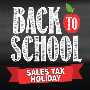 Back to School Tax Holiday