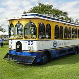 Trolley Service for New Years