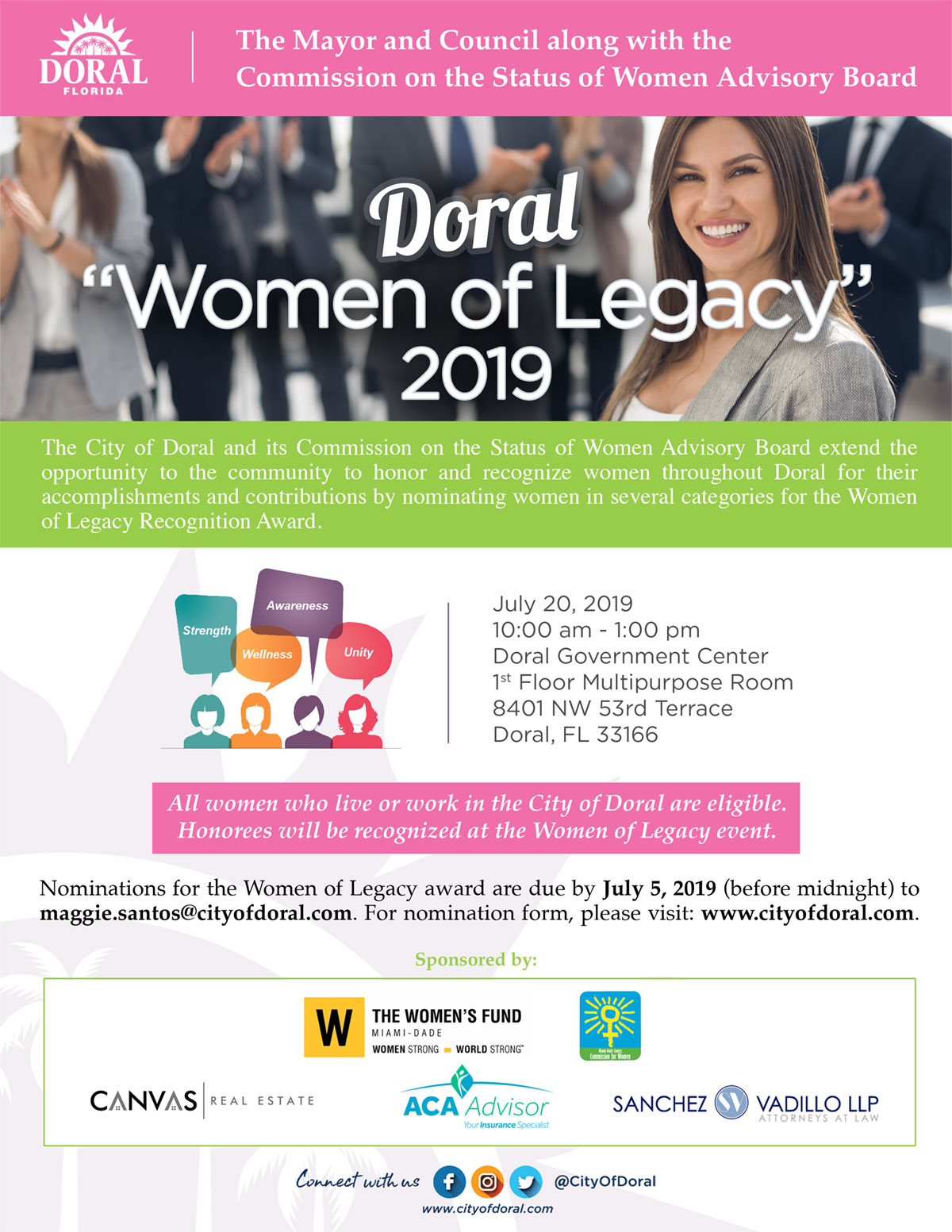 Doral Women of Legacy