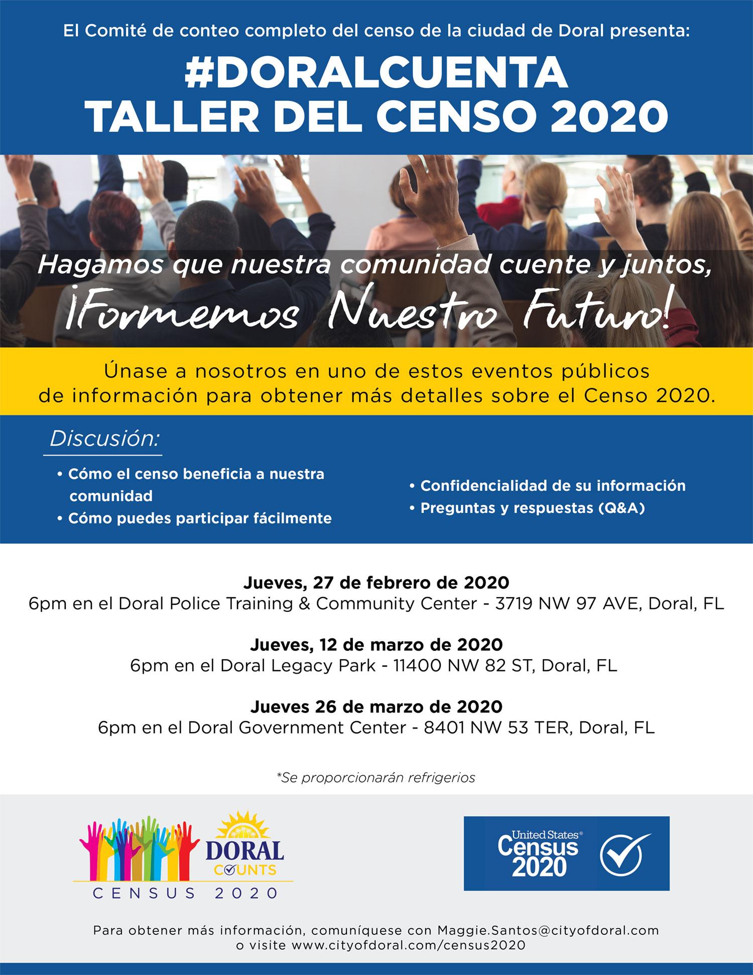 Census Workshop Spanish