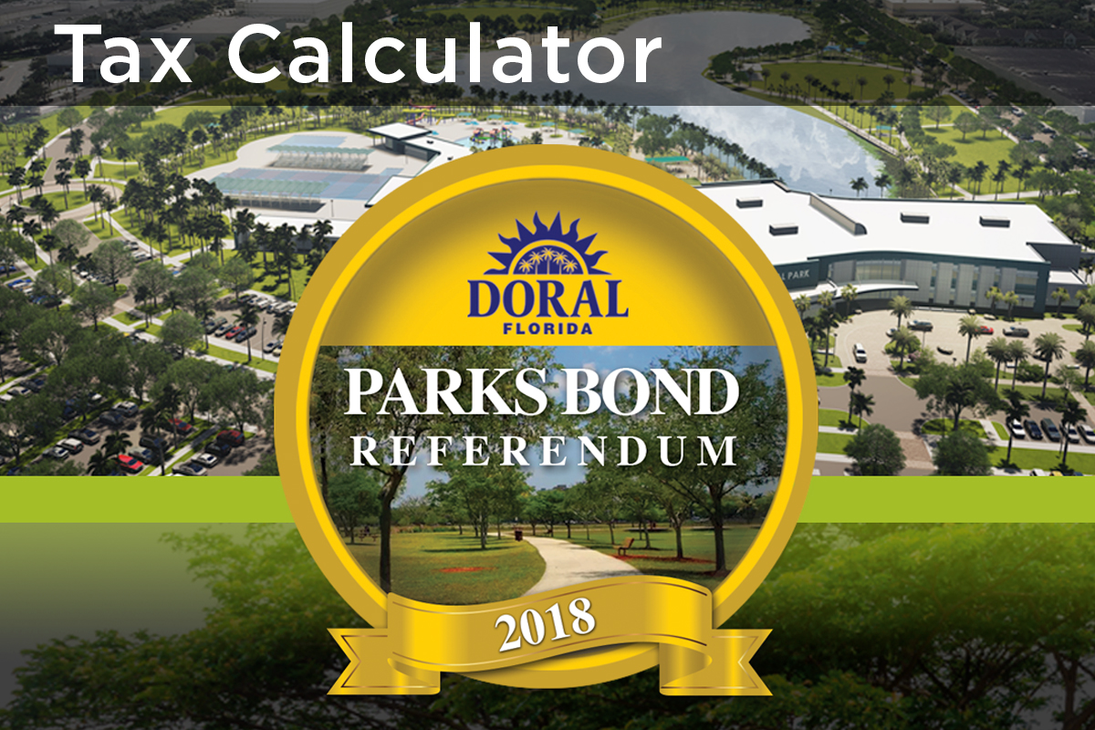 Tax Calculator - Parks Bond